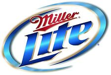 Miller Lite High Sticker Decal Vinyl Logo 4 stickers