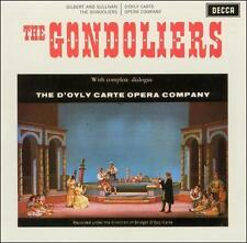 NEW Gilbert & Sullivan: The Gondoliers (Audio CD)
