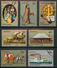 Australia 1972 Pioneer Life set used  *COMBINED SHIPPING*