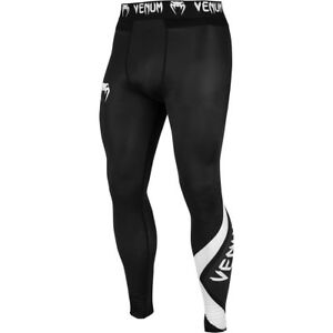 Venum Contender 4.0 MMA Compression Spats - Black/Gray/White