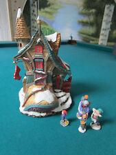 Department 56 Storybook Village The Old Woman Cobbler-Set Of 5 Nib