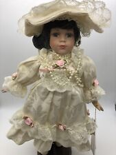 Antique Katrina Collection Porcelain Doll By Katrina Morandi 1998 Authentic Tags