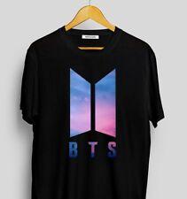 K-POP BTS Logo Bangtan Boys love Yourself T-shirt Tee Women Men Unisex T-Shirt