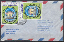 1990 UAE, Cover Abu Dhabi to Germany, Chamber of Commerce and Industry [cm777]
