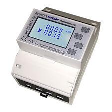 B+G e-tech  LCD Multifunktions Dreh- Stromzähler S0 RS485 10/100A  SDM630 Modbus