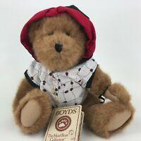 "Boyds Bear Best Dressed Lucky B Ladybug 10"" Plush Articulate Teddy"
