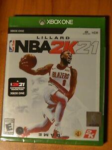 Lillard NBA 2K21 Xbox One Standard Edition Brand New Factory Sealed