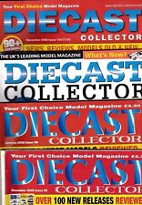 Various Issues of DIECAST COLLECTOR Magazine November 1997 to February 2010