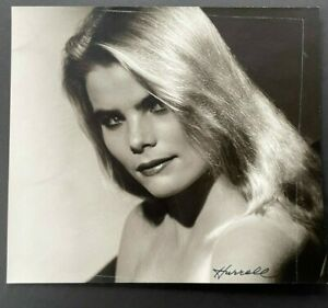 MARIEL HEMINGWAY vintage photo, taken and SIGNED BY GEORGE HURRELL
