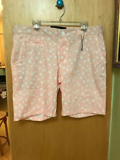 SOMETHING STRONG CASUAL SHORTS PINK STARS NWOT 36 MENS