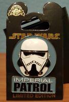 Disney Star Wars Han Solo Story Imperial Patrol Storm Trooper 3-D Pin 2018 LE