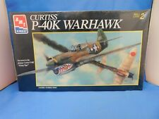 AMT/ERTL 1/48 Scale Curtiss P-40K Warhawk #8794
