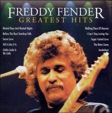 DAMAGED ARTWORK CD Freddy Fender: Freddy Fender - Greatest Hits [Intercontinenta