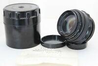 Jupiter 9 Lens f2/85 M39 Thread Portrait Black Body