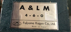 Brass HO Locomotive 4-6-0 Arkansas & Louisana Missouri Fujiyama Kogyo 67