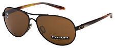 Oakley Feedback Womens Sunglasses OO4079-3659 Polished Black | Prizm Tungsten