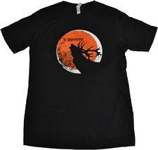 Jägermeister USA T-shirt schwarz Größe M Logo Hirsch Motiv