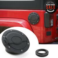 1pcs Fuel Filler Door Cover Gas Tank Cap for Jeep Wrangler JK 2//4 Door Pentagram