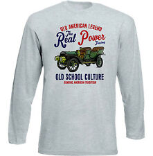 Vintage American Car Ford Touring-Nuevo Algodón Camiseta