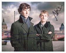 Benedict Cumberbatch & Martin Freeman ++ Autogramm ++ Sherlock ++ Autograph