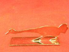 Repose Couteau Animalier en Argent Plaqué Yorel France Silver Silber Oie 2