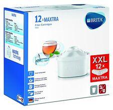 NEW BRITA MAXTRA Water Filter Cartridges Pack of 12 BRITA Jugs Tassimo machines