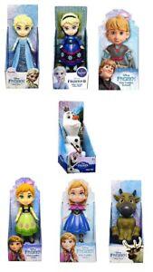 Disney Frozen Mini Figures 3 Inch Olaf Kristoff Sven Anna Elsa Jakks Pacific