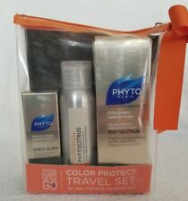 Phyto COLOR PROTECT 3Piece Travel Set PhytoCitrus Shampoo Mask Subtil Elixir New