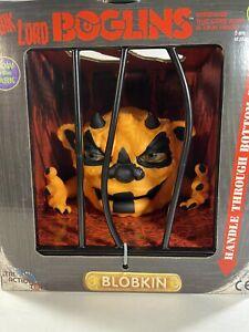 """Boglins Dark Lord Blopkin - Glows In The Dark - Tri Action Toys 8"""" Foam Puppet"""