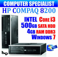 PC de bureau Intel Core 2 Windows 7 HP