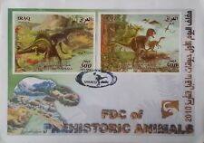 IRAQ Prehistoric Animals_Dinosaurs 2010 FDC