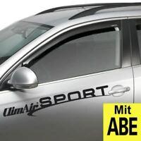E12 ab 2013 Climair Windabweiser hinten Nissan Note Typ