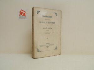 Vocabolario italiano d'arti e mestieri di G. Carena. 1858, Napoli, molto buono