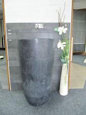 Éviers en pierre naturelles Basalto nero Colonne mat évier pièce unique