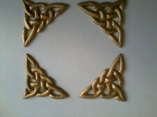 Decorative Resin Moulding - Traditional Classic - 4 Celtic Knot Corners - Gold