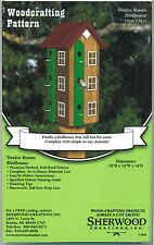 Twelve Room Birdhouse Woodworking Plans by Sherwood Creations