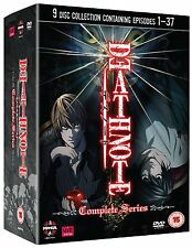 DEATH NOTE COMPLETE DVD COLLECTION 9 DVD BOX ENGLISCH