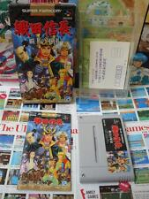 Super Famicom SFC:Oda Nobunaga - Haou No Gundan [TOP RPG ANGEL] COMPLET - Jap