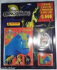 Panini DINOSAURI Disney album vuoto + 5 bustine + 1 3D - blister sigillato 2000