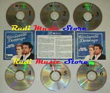 BOX 6 CD RICCIARELLI DOMINGO Fascino due voci SELEZIONE READER DIGEST lp mc dvd