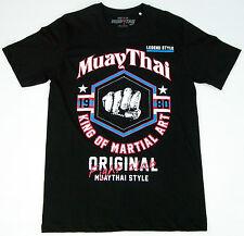 Top Muay Thai Fight Club T-SHIRT-King of martial art-KICK BOXE-Pantaloncini-Ufc-MMA
