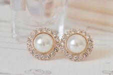 Swarovski Pearl Stud Fashion Earrings
