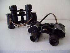 Vintage WW1 WW2 Two Pairs Binoculars Military German Army Model Werco Nurnbeurg