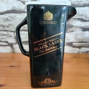 JOHNNIE WALKER 12 YEARS EXTRA SPECIAL  SCOTCH WHISKY BAR WATER JUG