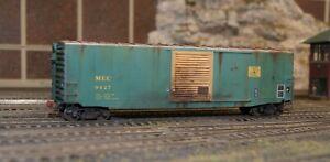 HO Custom Decaled, Weathered/Detailed Intermountain Box Car - Maine Central MEC