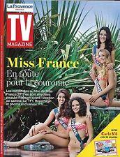 TV MAGAZINE N°22498 2 11/12/2016 MISS FRANCE 2017_MIKKELSEN_REICHMANN_DELAHOUSSE