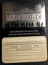 Band of Brothers Series 6 DVD disc set In Tin Box Case