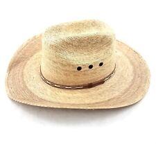 Atwood 4X Low Crown Dark Palm Straw Hat
