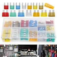 220PCS Mini & Standard Truck SUV'S Auto Fuses Assorted Coded Car Fuse 5 to 30amp