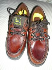 John Deere lace up oxford Brown Oil Resistant SHOES size 7